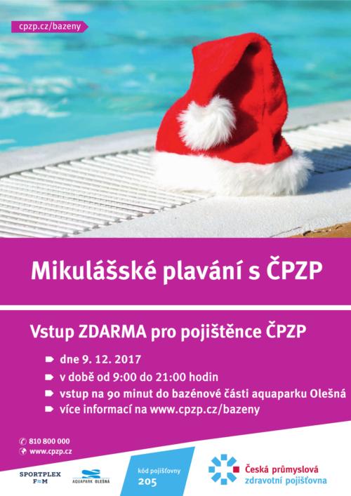 2017 Mikulasske plavani Olešná